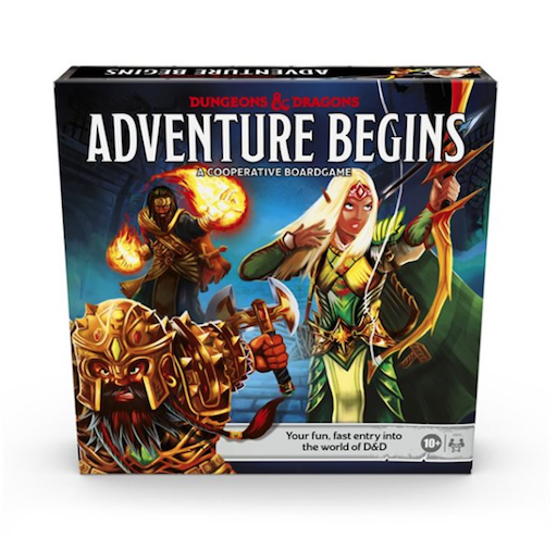 Dungeons & Dragons: Adventure Begins - Cooperative Boardgame