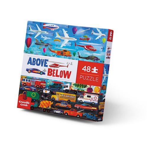 48pc Above & Below - Things that Go