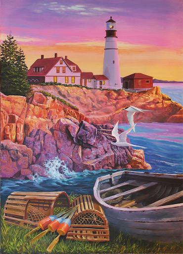 Lighthouse Cove 275pc