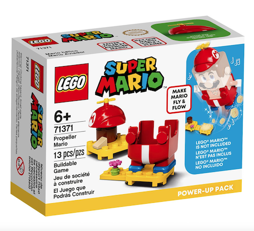 Lego Super Mario Propeller Mario Power-Up Pack