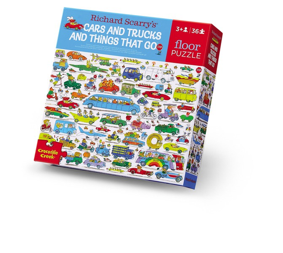 36-pc Puzzle/Richard Scarry® Cars & Trucks