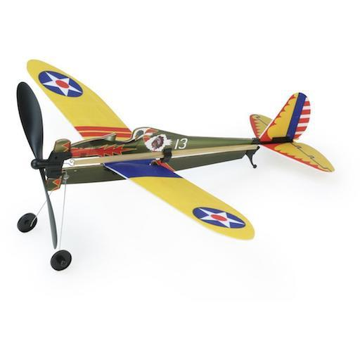 Rubber Band Airplane - Boeing P-26