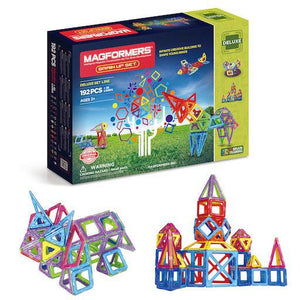 Magformers Brain-up Set: 192 Pieces