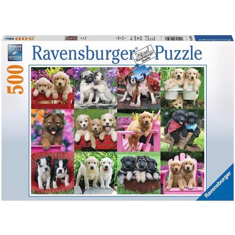 Puppy Pals 500pc Puzzle