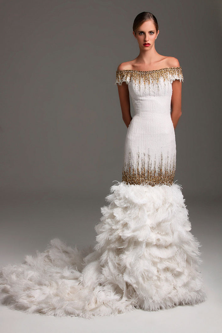 Darius Cordell Custom wedding dresses and evening gowns