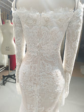 Off the shoulder wedding gown inspired by Ester Couture