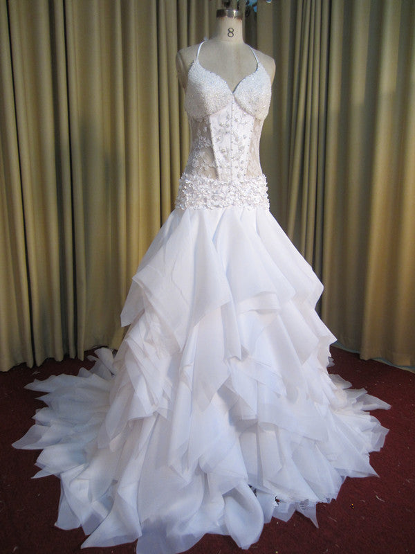 Corset Style Wedding Dresses made by Darius