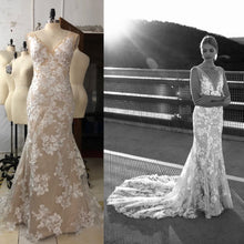 Replication of couture wedding gown inspired by Stevie- Made With Love
