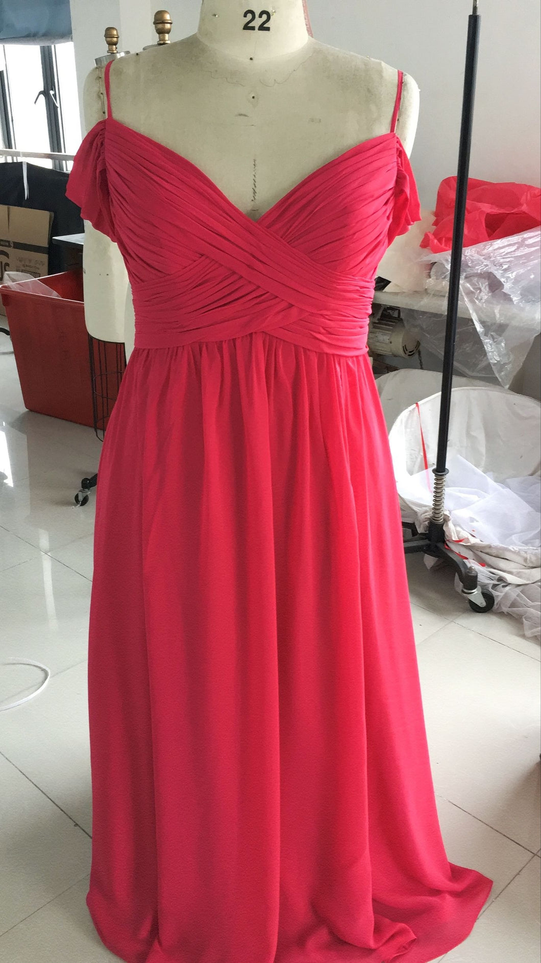 Darius Cordell Red Plus Size Evening Dresses