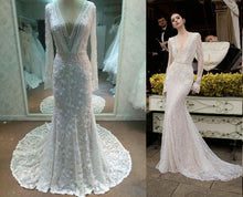 Darius Cordell | Style #C2015-MJLS - Long Sleeve Wedding Dress