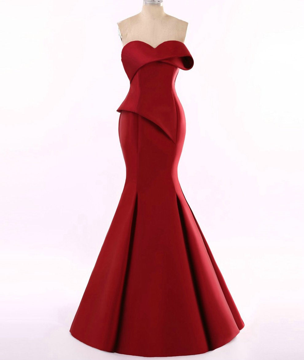 Red Haute couture Evening Gowns from Texas Designer Darius – Darius ...