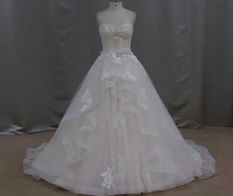 Strapless ball gowns Wedding Dresses by Darius Fashion