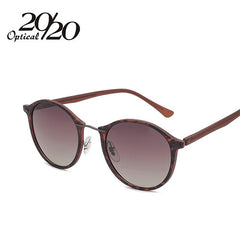 20/20 Brand New Women Sunglasses Men Mirror Polarized Driving Travel Unisex Round Glasses Brand Eyewear Oculos Gafas - Sunglasses Outlet