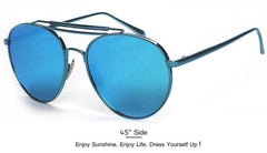 2016 Fashion Newest Popular Sunglasses Women Brand Designer Pilot Sun Glasses Men Gafas Oculos De Sol Feminino Masculino