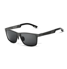 Aluminum Polarized Lens Sunglasses Men Sport Mirror Driving Sun Glasses Outdoor Glasses Square Goggle Eyewear Accessories 6560 - Sunglasses Outlet