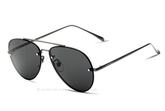VEITHDIA Brand Rimless Fashion Unisex Sun Glasses Polarized Coating Mirror Sunglasses Oculos Male Eyewear For Men/Women 3811 - Sunglasses Outlet