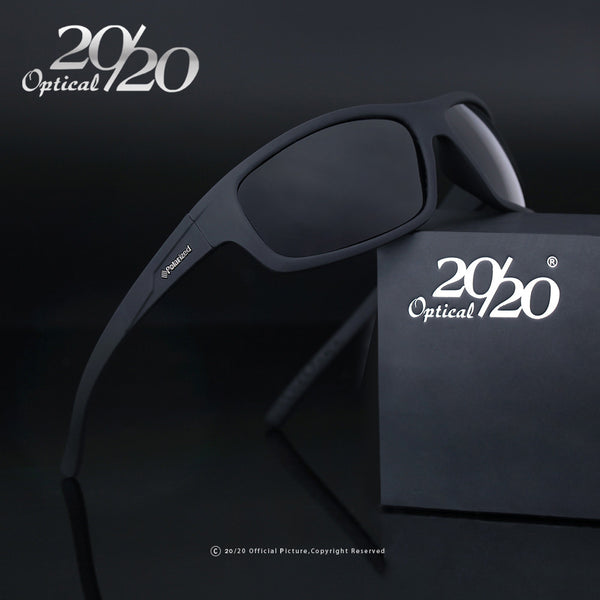 20/20 Optical Brand 2017 New Polarized Sunglasses Men Fashion Male Eyewear Sun Glasses Travel Oculos Gafas De Sol PL66 - Sunglasses Outlet
