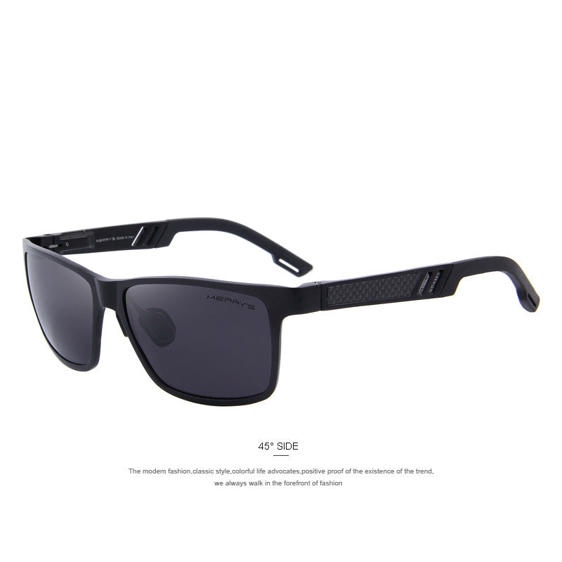 MERRY'S Fashion Aluminum Magnesium Polarized Sunglasses Men Brand Designer Sun Glasses Driving Eyewear oculos Shades S'8571 - Sunglasses Outlet