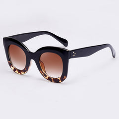 AOFLY Fashion Sunglasses Women Luxury Brand Designer Vintage Sun glasses Female Rivet Cat eye Glasses For Women Gafas Oculos