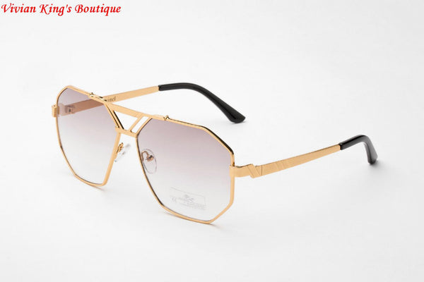 2017 Vintage Sunglasses for Men and Women Sonnenbrille Brand Designer Sun Glasses Polygon Frame Gafas De Sol JWW140