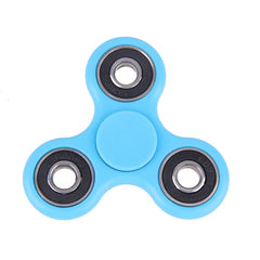 Newest Creative Fidget Spinner Desk Anti Stress Finger Spin Spinning Top EDC Sensory Toy Cube Gift for Children Kid 6Colors