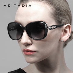 VEITHDIA Retro TR90 Driving Sun glasses Polarized Luxury Ladies Designer Women Sunglasses Eyewear oculos de sol feminino 7022 - Sunglasses Outlet