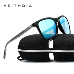 VEITHDIA Brand Unisex Retro Aluminum+TR90 Sunglasses Polarized Lens Vintage Eyewear Accessories Sun Glasses For Men/Women 6108 - Sunglasses Outlet