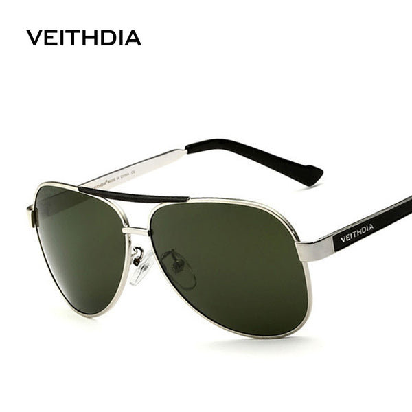 2016 New Arrival  VEITHDIA  Polarized Sunglasses Men Brand Designer Sport  Sun Glasses  gafas oculos de sol masculino 3152 - Sunglasses Outlet