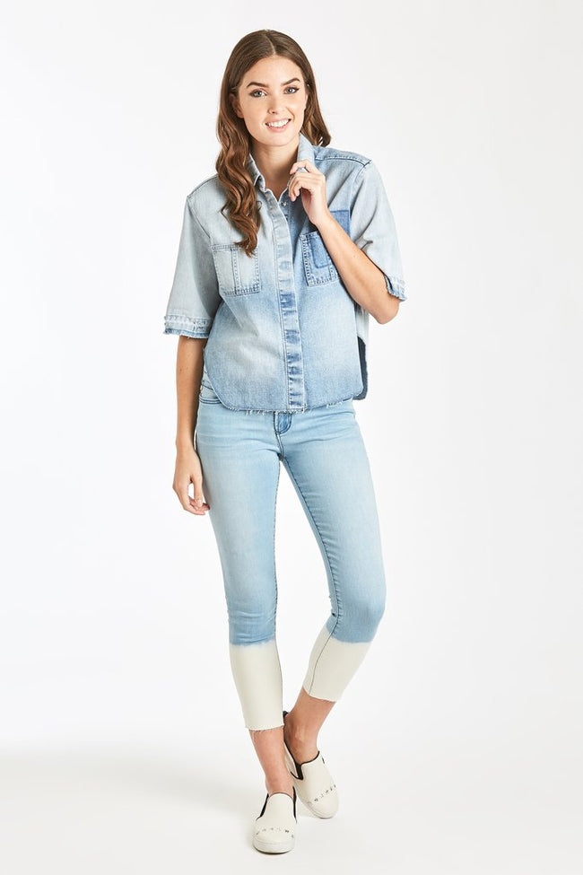 Bianca Denim Shirt Monterey