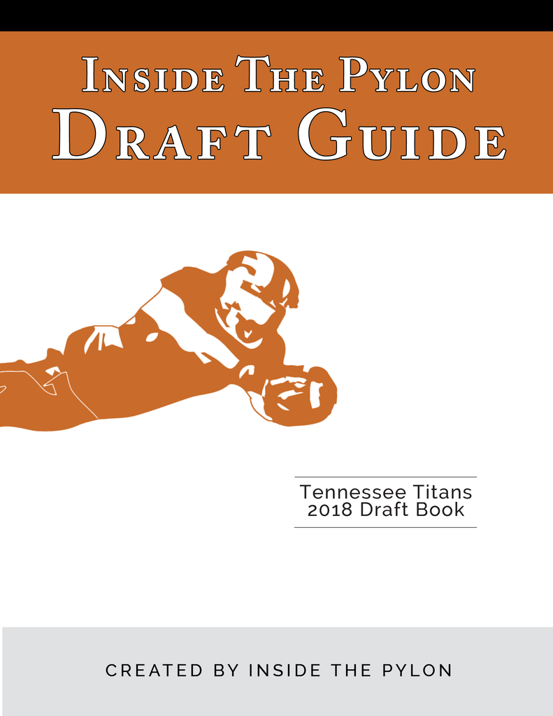 2018 Tennessee Titans Draft Book