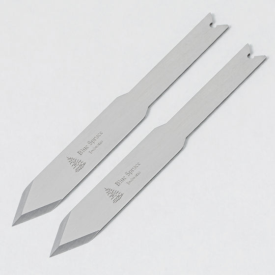 ".032"" Spear Point, Small Marking Blade - Pair"