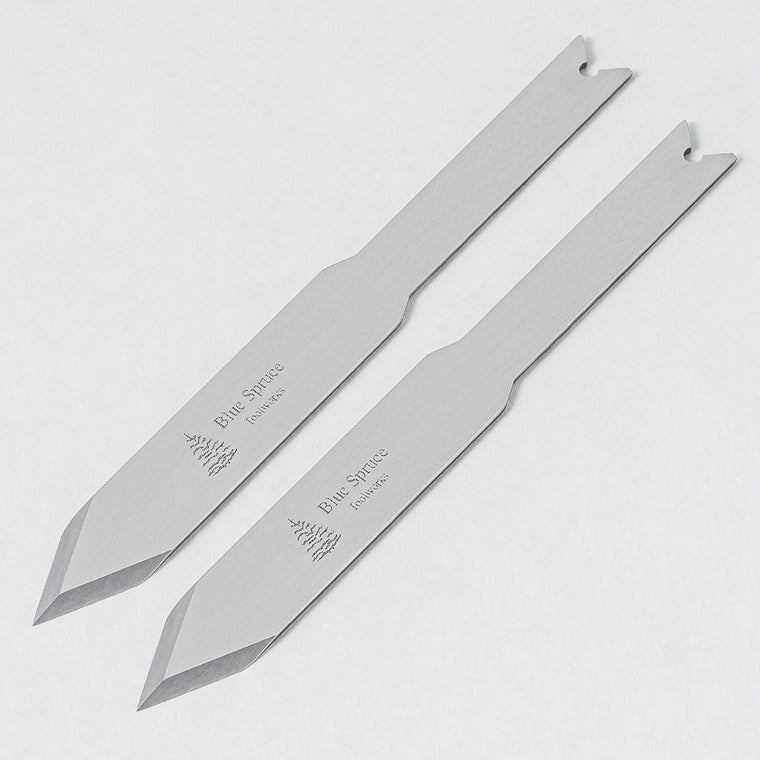 ".032"" Spear Point, Small Marking Blade - Pair (Shipping Late November 2020)"