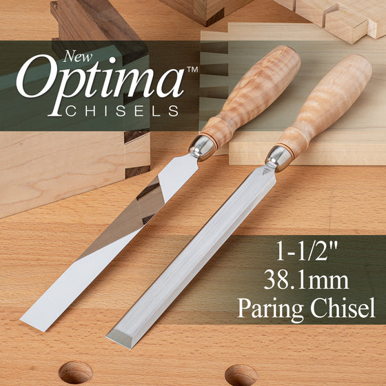 OPTIMA™ Paring Chisel - 1-1/2 (1.500) - 38.1mm