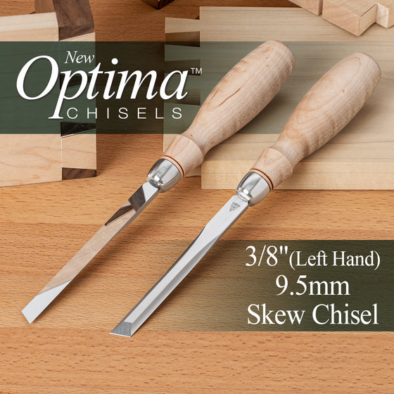 OPTIMA™ Skew Chisel SKEW CHISEL 3/8 LEFT HAND (0.375), 9.5mm (Shipping Late May 2021)
