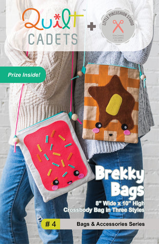 Quilt Cadets: Brekky Bags (#4)