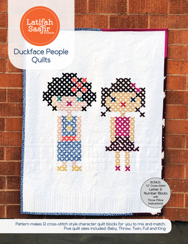 Duckface People Quilt - PDF