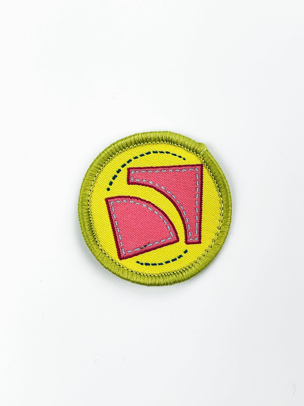 Quilt Cadets Merit Badge: Curved Sewing Badge
