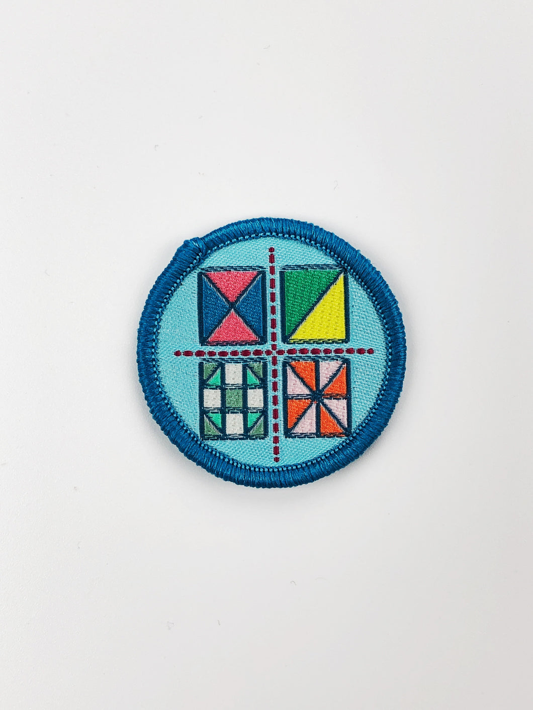 Quilt Cadets Merit Badge: Quilt Block Badge
