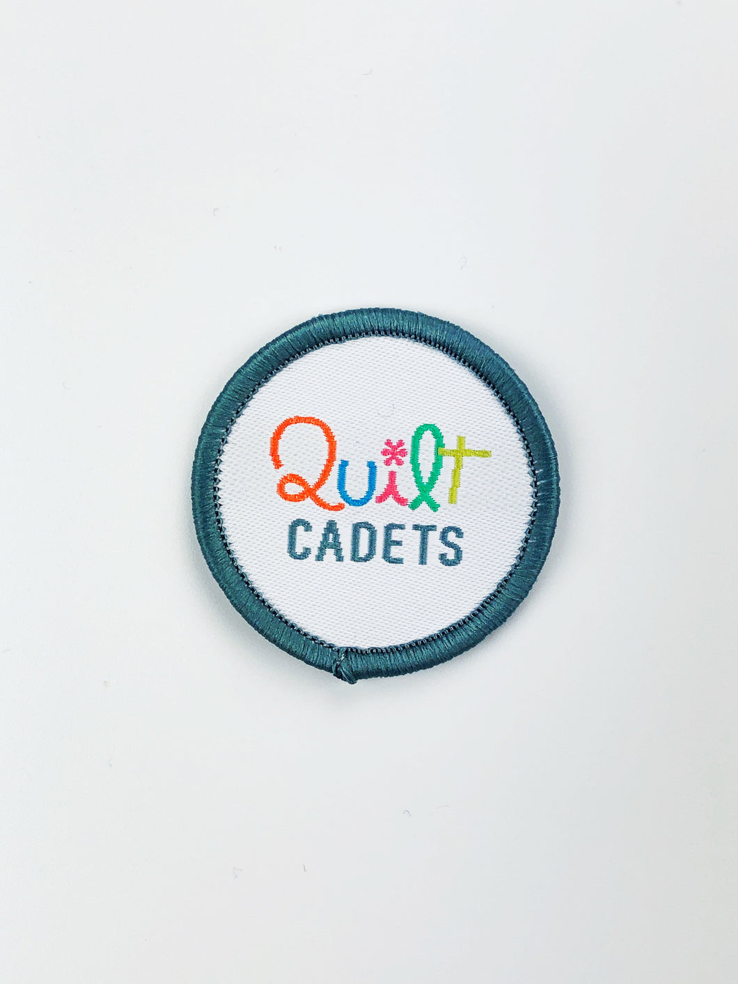 Quilt Cadets Merit Badge: Logo Badge