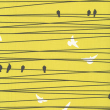 Grafic Fabric - Birds on the Wire ($6/half yard)