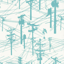 Grafic Fabric - Power Lines ($6/half yard)