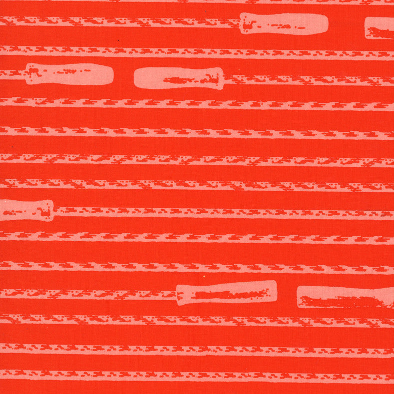 Double Dutch Fabric - Jump Ropes ($6/half yard)