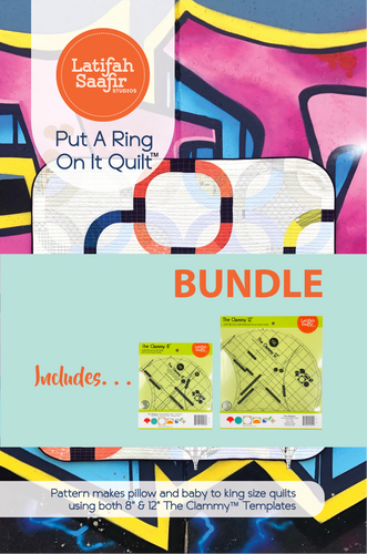 PRE-ORDER Put a Ring On It Quilt Bundle (Includes Pattern + Clammy 12