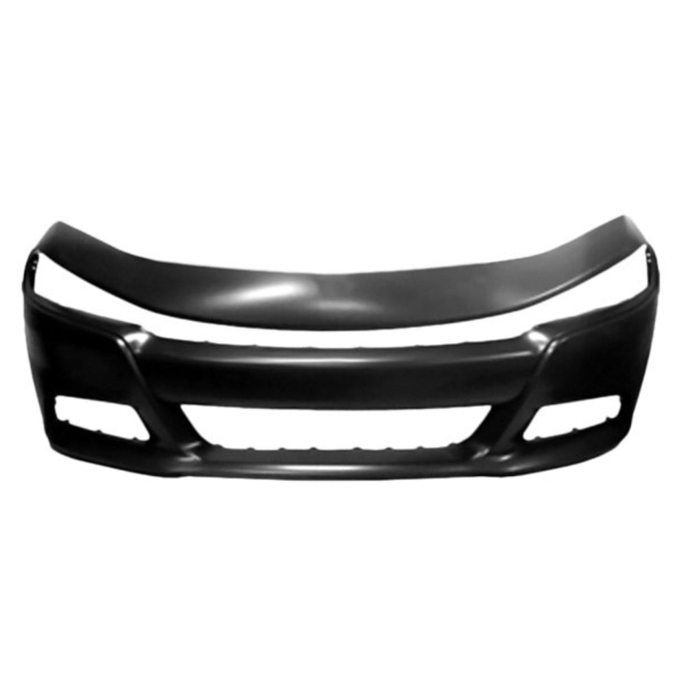 New Painted 2015-2021 Dodge Charger Front Bumper
