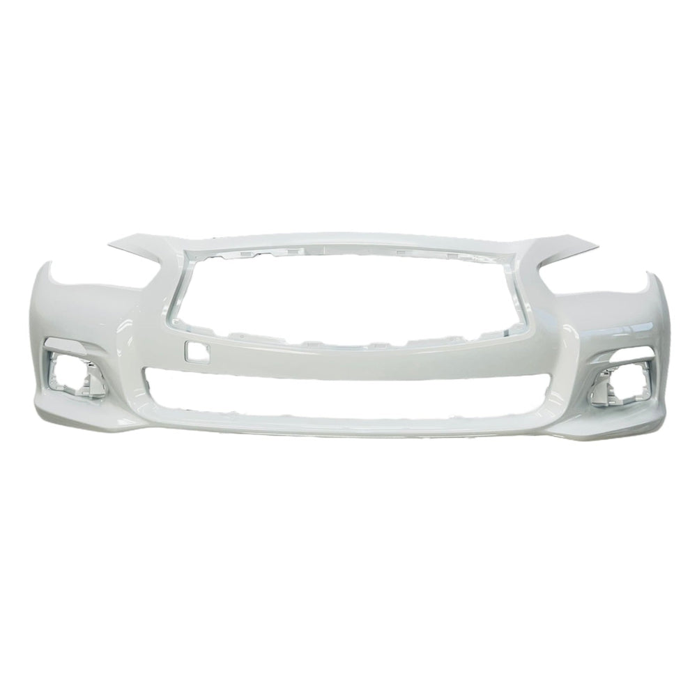 New Painted 2014-2017 Infiniti Q50 Front Bumper