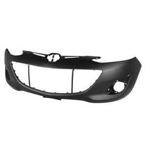 New Painted 2011-2014 Mazda Mazda 2 Front Bumper
