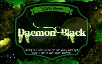 Daemon Black (Lux Series) Soy Candle