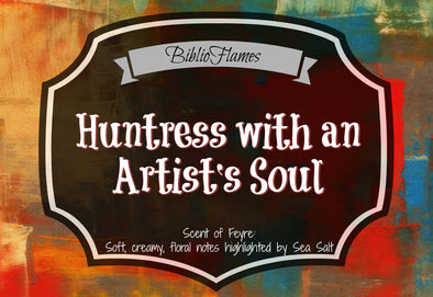 Feyre - Huntress with an artists soul ACOMAF candle