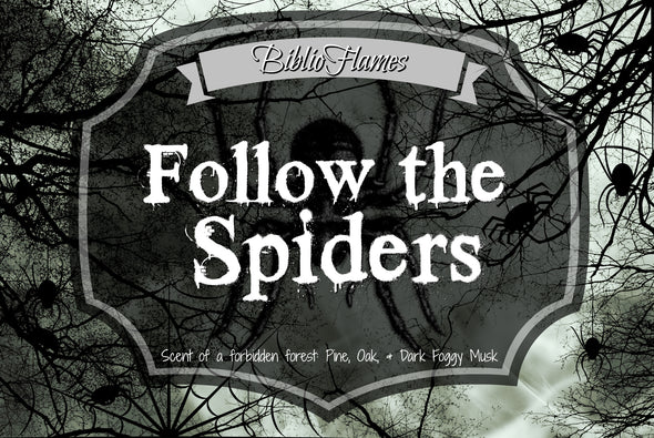 Follow the Spiders HP Hagrid Inspired soy candle
