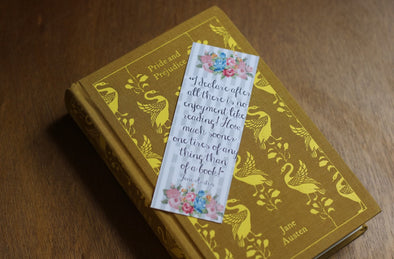 Jane Austen, No enjoyment like reading Quote Bookmark